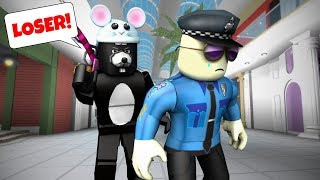 HE BULLIED THE POLICE! | Roblox Roleplay