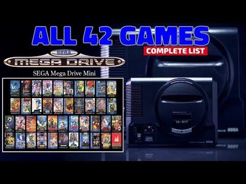 Sega Mega Drive Mini / Sega Genesis Mini Complete Games List [All the  Games] - (EUR/US Versions)