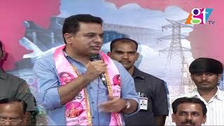 KTR Speech At Telangana Bhavan, Congress And TDP Leaders Join TRS     Great Telangana TV