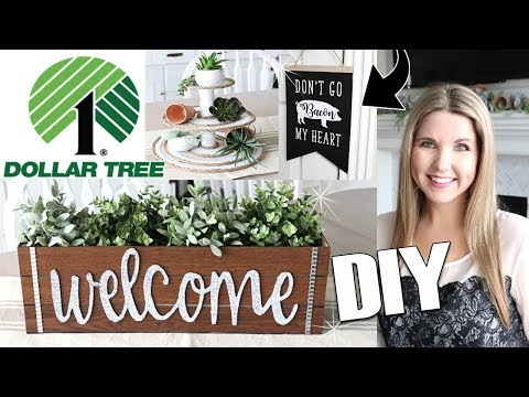 DIY Dollar Tree Room Decor ⭐ Farmhouse DIY on a budget