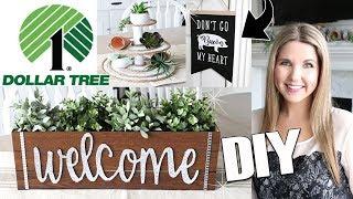 DIY Dollar Tree Room Decor ⭐ Farmhouse DIY on a budget