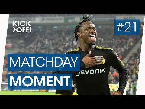 Batshuayi scores in dream debut for borussia dortmund | bundesliga goals