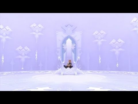 KH: Birth By Sleep HD 1.5 + 2.5 (PS4) - Aqua Creates Castle Oblivion Scene HD 720p 60fps