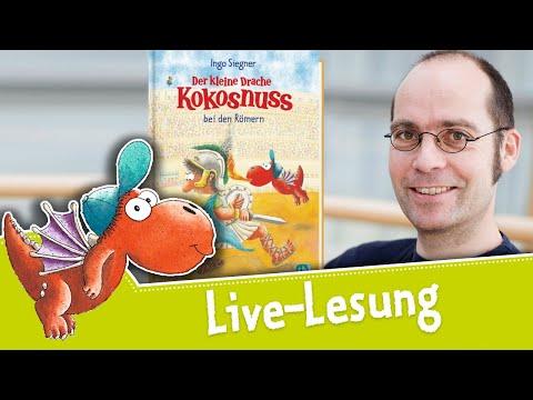 Der kleine Drache Kokosnuss bei den Römern YouTube Hörbuch Trailer auf Deutsch