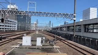 313系2500番台T5編成 静岡駅四番線入線