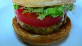 モスバーガーのソイパティ モス野菜バーガー オーロラソース仕立て♪