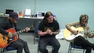 "Shinedown - ""If You Only Knew"" (Acoustic Backstage @ Municipal)"