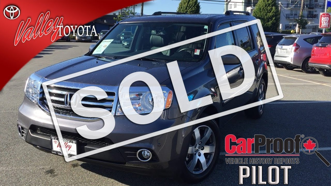 sold 2015 honda pilot touring preview for sale at valley toyota in chilliwack b c 17141a. Black Bedroom Furniture Sets. Home Design Ideas
