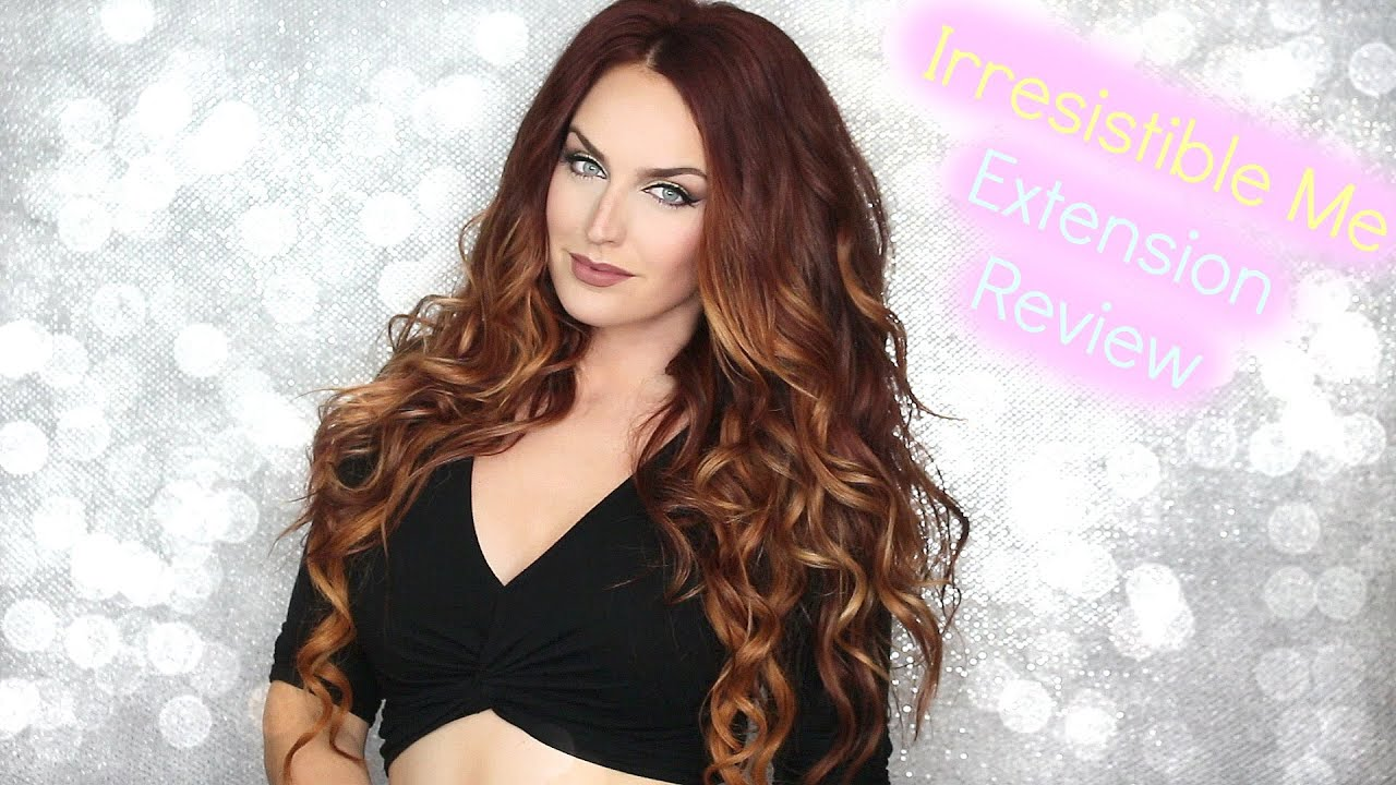 Irresistible Me Hair Extensions Youtube Remy Indian Hair