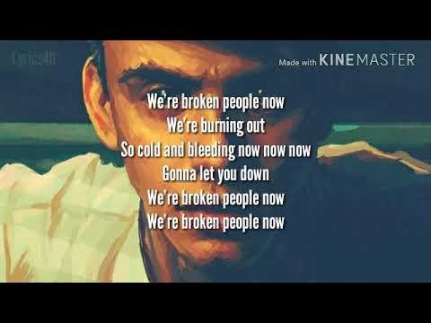 LOGIC, Rag'n'Bone Man - Broken People: Lyrics with Audio