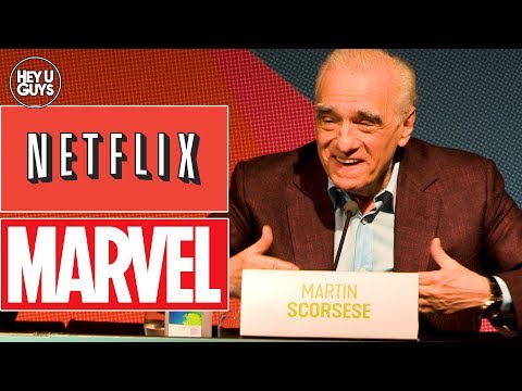 Martin Scorsese on 'Theme Park' Marvel Movies, Netflix, & Streaming