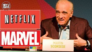 Martin Scorsese on 39Theme Park39 Marvel Movies Netflix amp Streaming
