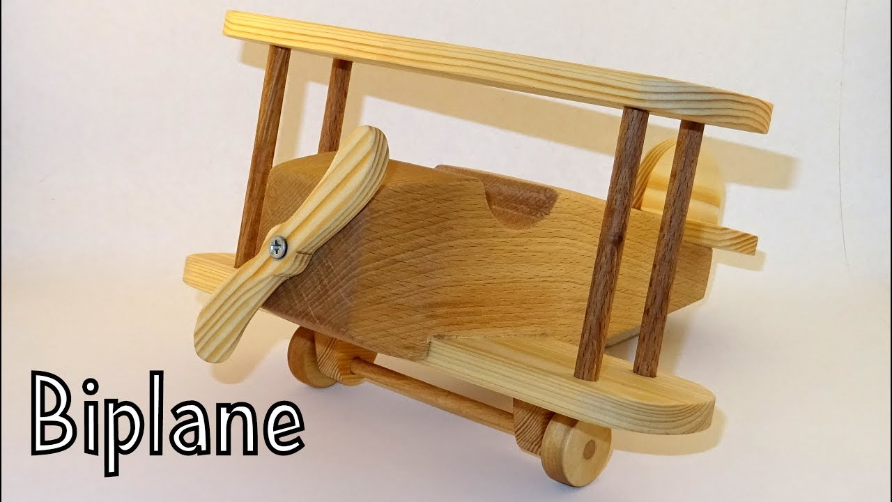 wooden toy biplane: 5 steps (with pictures)