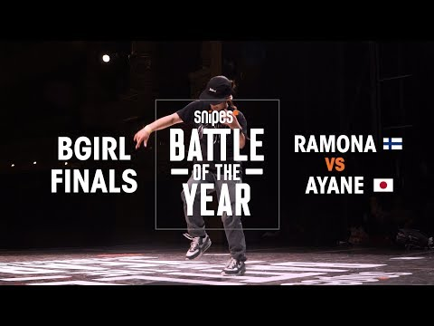 Ramona (FIN) vs Ayane (JPN) | BOTY 2018 1V1 BGIRL FINAL