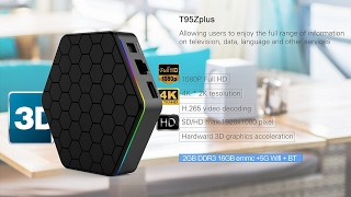 evanpo t95z plus android tv box amlogic s912 octa core unboxing