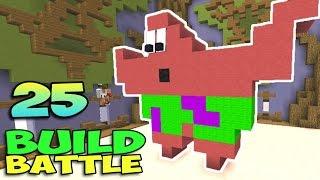 ч.25 Minecraft Build Battle - Патрик Стар и Sky island
