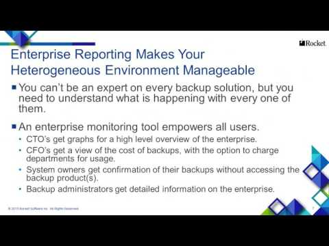 Are You Managing Your Backup Enterprise or is it Managing You?