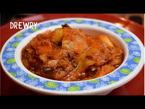 EASY GHANAIAN CABBAGE/CORNED BEEF STEW