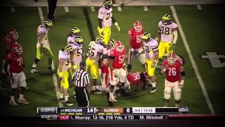The Clash in Dallas: Michigan vs Alabama 2012