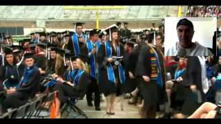 Notre Dame Graduates Walk out of VP Pence Speech