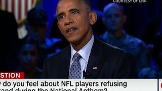 Obama Comments on National Anthem Protests