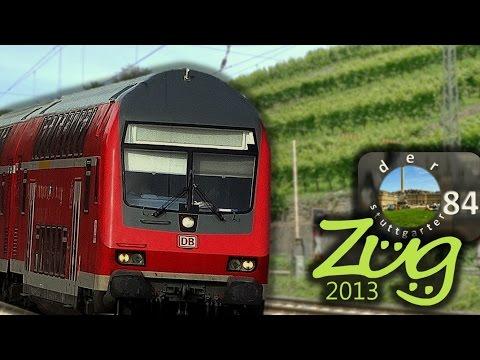 Zug2013: Frankenbahn Doku (Stuttgart-Würzburg) Teil 1 - mit BR111, 146, 143, n-Wagen, Dosto u.v.m.