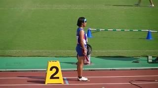 2017年 第44回全日本中学校陸上競技選手権大会 女子4×100mリレー予選3組