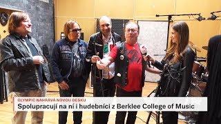OLYMPIC NAHRÁVÁ NOVOU DESKU / 10.04.18 / Televize Seznam