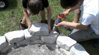 "How To Make A Fire Pit, Athey Family ""how To's"""