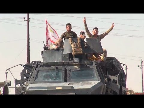 Dramatic moment Iraqi forces enter Kurdish Kirkuk (EXCLUSIVE)