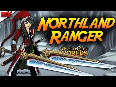 Northland Ranger Set , House And LEGION GEAR!!! AQW Adventure Quest Worlds