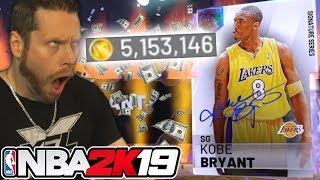 I bought 5 Million VC for Kobe Bryant! NBA 2K19