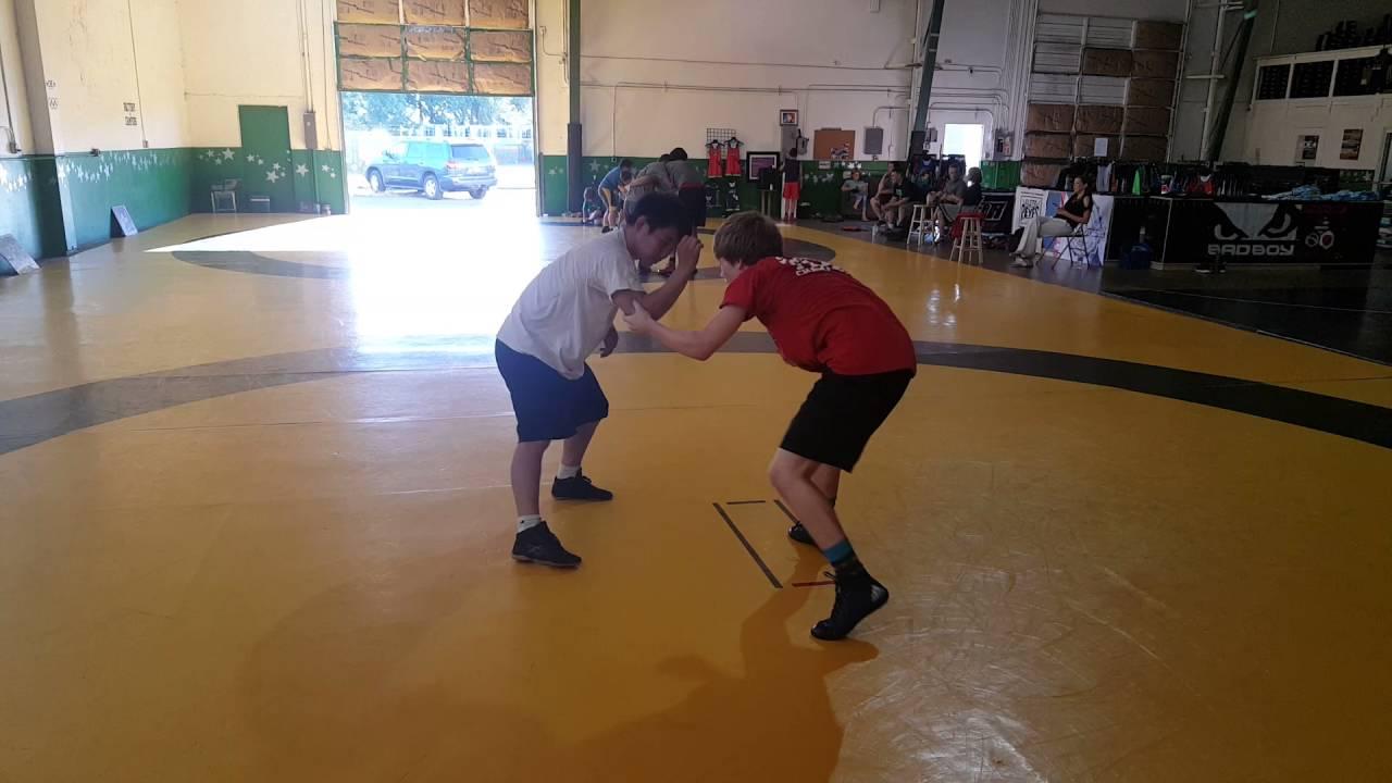 damaged ear wrestling club gary thayer vs russan word champion