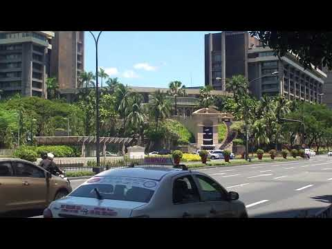 File footage - Makati CBD, Ayala Avenue (holy week) [Makati; Apr 2015] HD