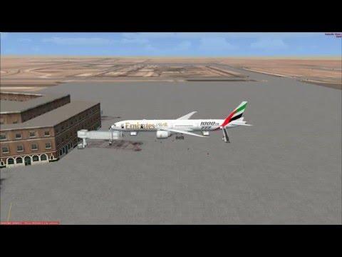[FSX] PMDG 777-300ER | Riyadh (OERK) to Dubai (OMDB) Part 1