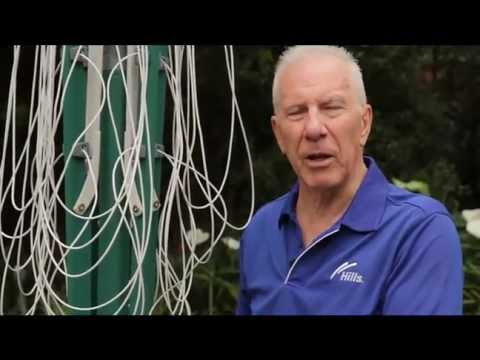 Hills Rotary Clothesline Installation Instructions - Install Hills Rotary Clothes Lines