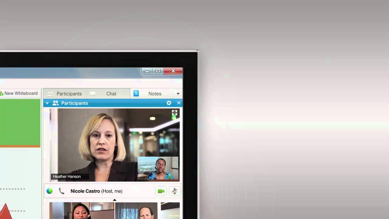Cisco: WebEx High Quality Demo - YouTube