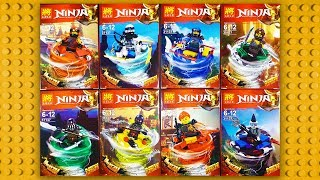 LEGO Ninjago Season 9: Hunted Minifigures (knock-off) LELE 31137