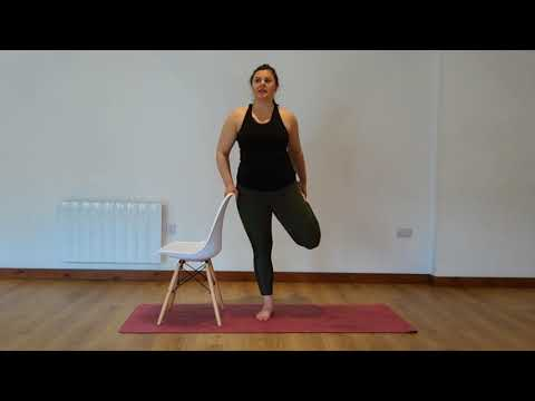 Yoga Osteo Quad Stretch