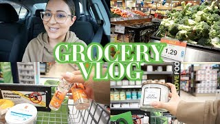 FIRST VLOG - Grocery Shop With Me!