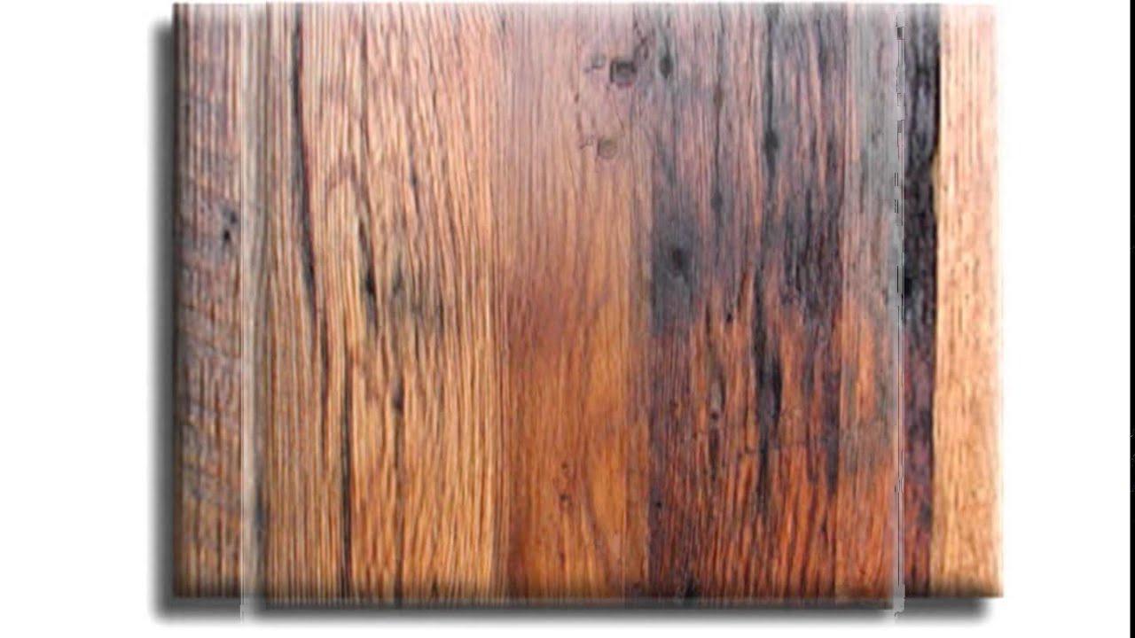 cabin grade hardwood flooring - YouTube