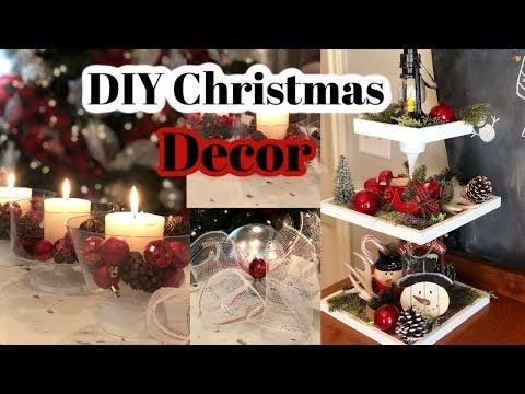DIY DOLLAR TREE CHRISTMAS HOME DECOR IDEAS ⭐️ INEXPENSIVE HOLIDAY DECOR