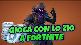 LIVE FORTNITE CON LO ZIO E CONTEST 1000 V BUCKS