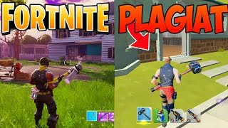 "NEW FREE GAME ""PLAGIAT"" FORTNITE BATTLE ROYAL!"