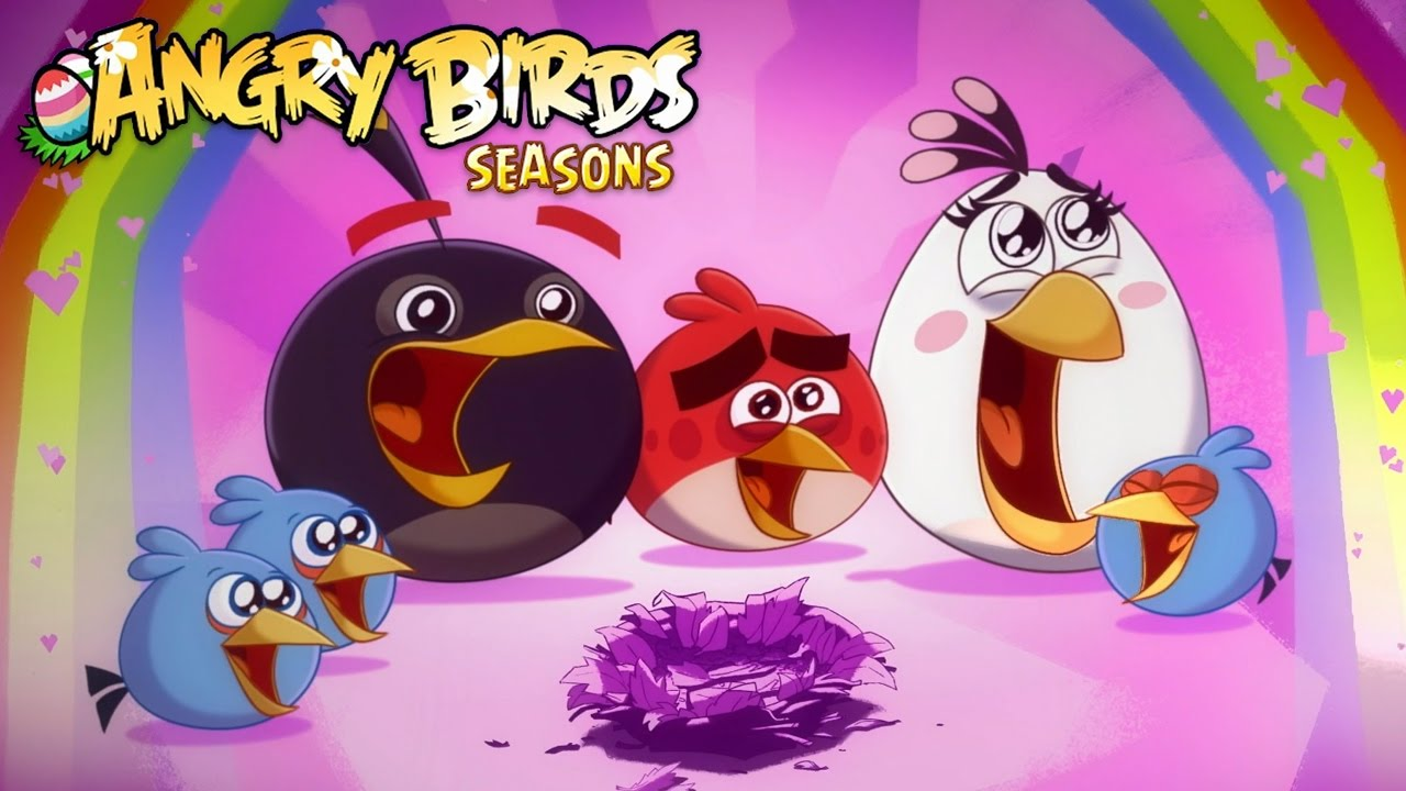 Angry Birds Hammier Things angry birds seasons 2016 ragnahog level 24-25 hammier things level 1-3