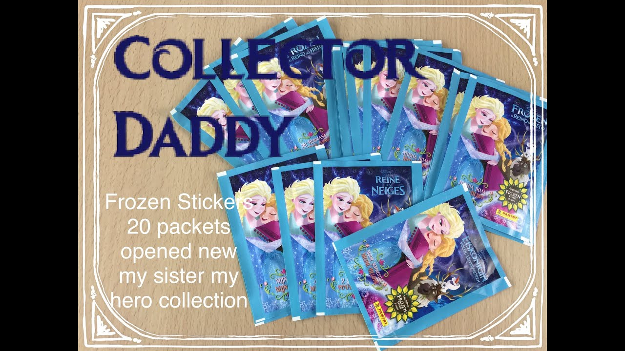 5 Packets of Stickers Panini Disney Planes Sticker Album Collection