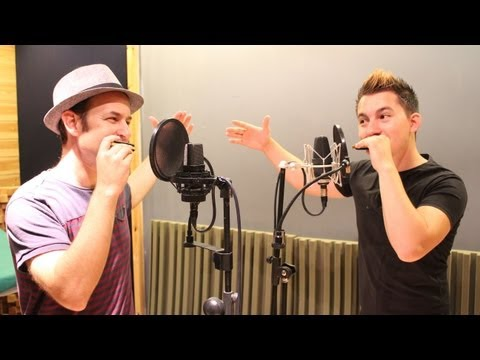 Harmonica Beatbox Bros - Yuri Lane and Isato Beatbox - ביטבוקס עם מפוחית