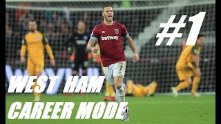 WEST HAM CAREER MODE #1 - Can We Win The League? - Fifa 19 Stream with Gerry Gaming & X2_Gecko