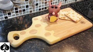 DIY Epoxy Resin Swiss Cheese Board | Chopping, Cutting, Serving Board Tutorial