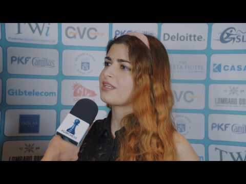 Round 2 Gibraltar Chess post-game interview with Dorsa Derakhshani